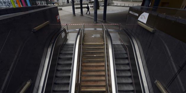 Le métro de Bruxelles est fermé au moins jusque dimanche après-midi.