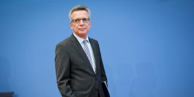 Innenminister de Maizière wurde nach der Länderspielabsage scharf kritisiert