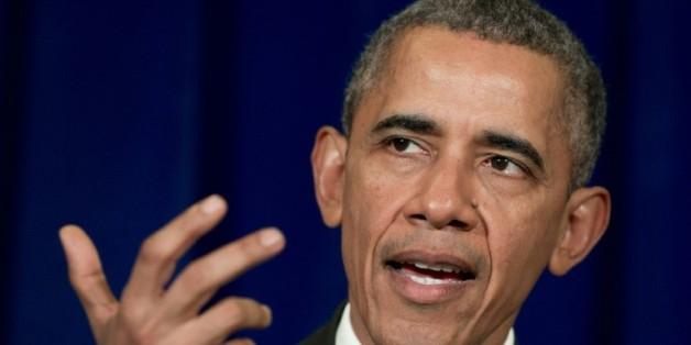 Le président Barack Obama lors d'une conférence de presse le 22 novembre 2015 à Kuala Lumpur
