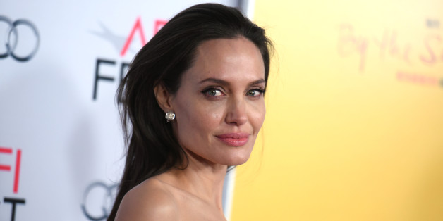 """Angelina Jolie arrives at the 2015 AFI Fest opening night premiere of """"By The Sea"""" on Thursday, Nov. 5, 2015, in Los Angeles. (Photo by Richard Shotwell/Invision/AP)"""