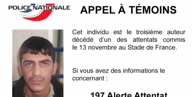 Das ist der dritte Stadion-Attentäter von Paris