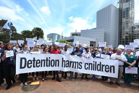 detention children