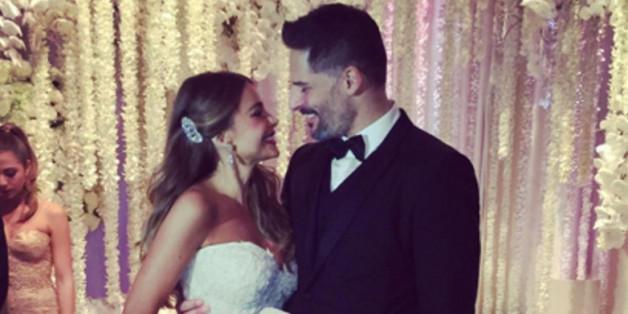 In diesem traumhaften Kleid hat Sofia Vergara geheiratet.