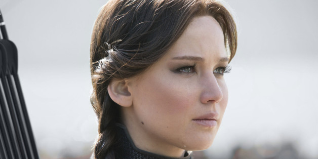 Als Katniss Everdeen hält Jennifer Lawrence die Kinozuschauer in Atem.