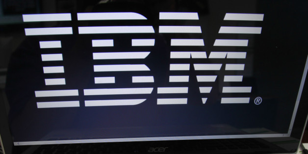 FILE - In this July 16, 2013, file photo, an IBM logo is displayed in Berlin, Vt. IBM says federal regulators are investigating its accounting of some business transactions in the United States, the United Kingdom and Ireland. The company made the disclosure in a public filing Tuesday, Oct. 27, 2015, saying it learned of the investigation in August. (AP Photo/Toby Talbot, File)