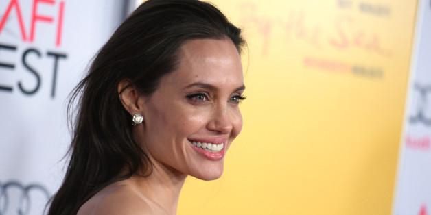 Angelina Jolie freut sich über das Älterwerden