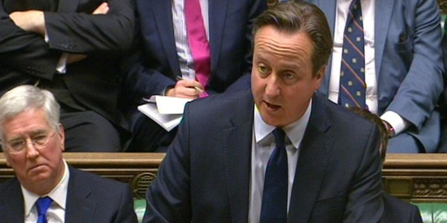 Prime Minister David Cameron makes a statement to MPs in the House of Commons, London where he announced his government's Strategic Defence and Security Review (SDSR).
