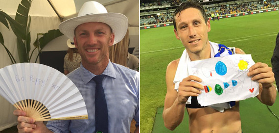 darren lockyer mark milligan go poppy