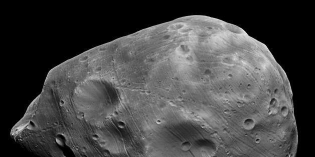 Der Marsmond Phobos dem Roten Planeten in 20 bis 40 Millionen Jahren so nahe kommen, dass der Trabant zerrissen wird.