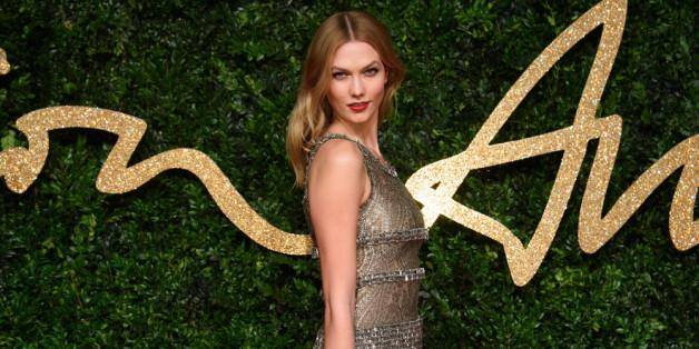 Strahlend schön zeigte sich Karlie Kloss bei den British Fashion Awards,