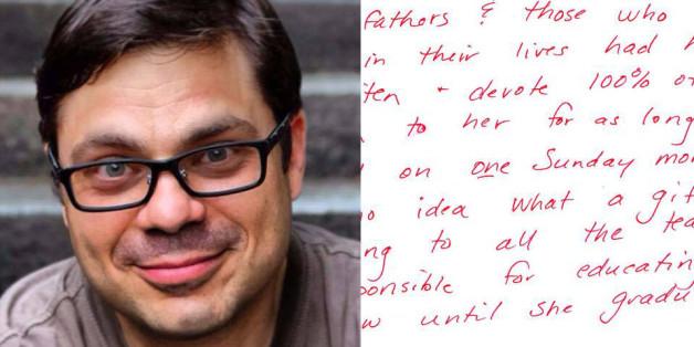 David Rosenman erhielt diese Nachricht, die seine Hingabe für seine Tochter veränderte