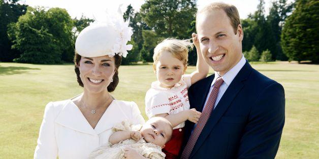 Deshalb kommt der kleine George nach Charles.