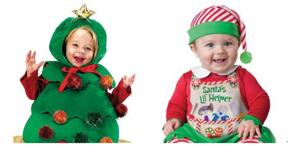 outfits. You can go as far as buying a full-on, 3D Christmas tree for your  baby or choose a fluffy festive jumper. - Best Christmas Outfits For Babies: From Christmas Pudding Babygros