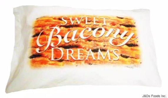 bacon pillowcase