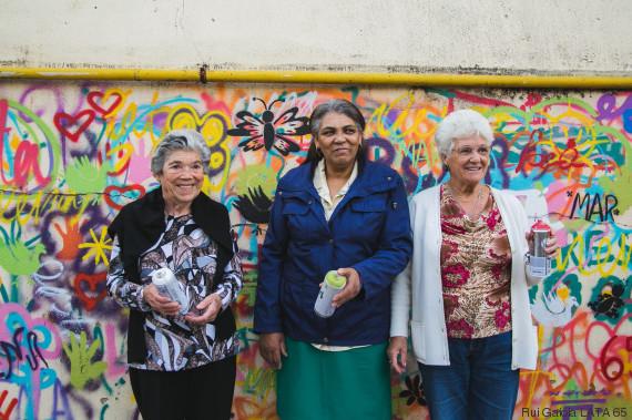 street art anziani