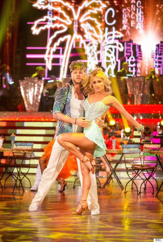 jay aliona strictly come dancing