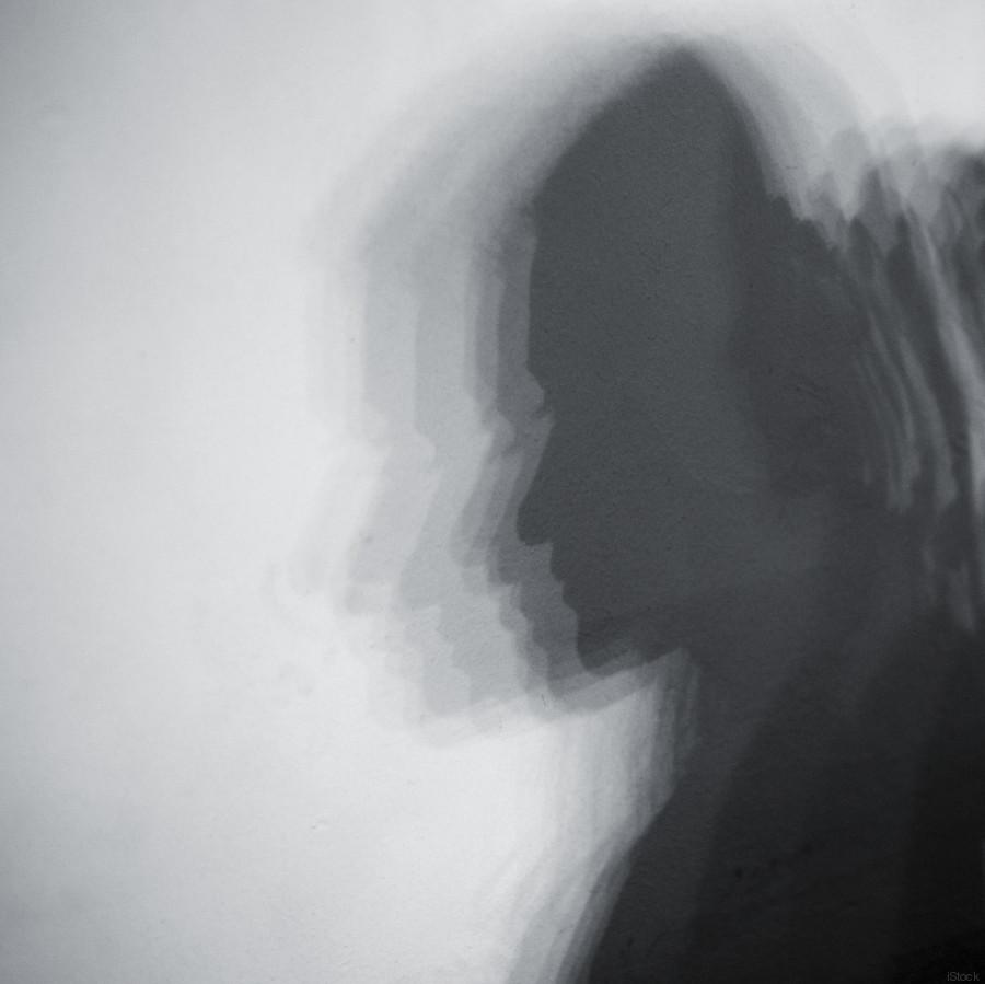 dark shadow woman
