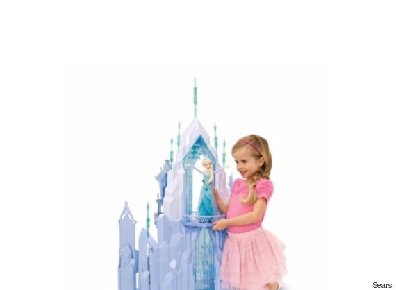 disney elsa castle