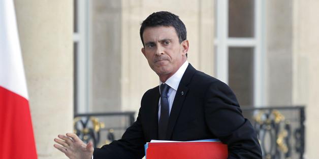 Frankreichs Regierungschef Manuel Valls