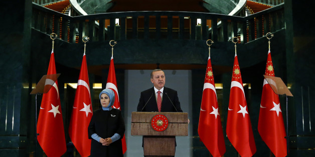 Der türkische Staatschef Recep Tayyip Erdoğan