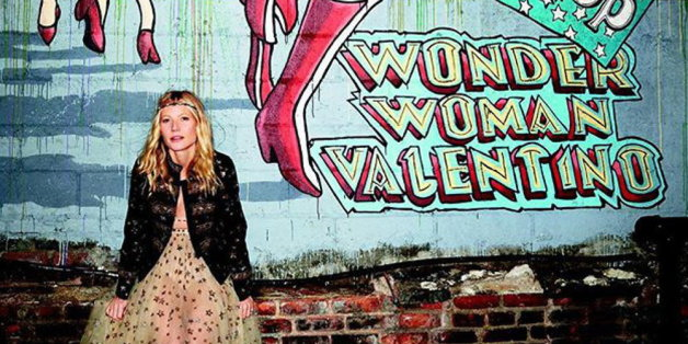 "Gywneth Paltrows Mode-Kollektion steht unter dem Thema ""Wonder Woman""."