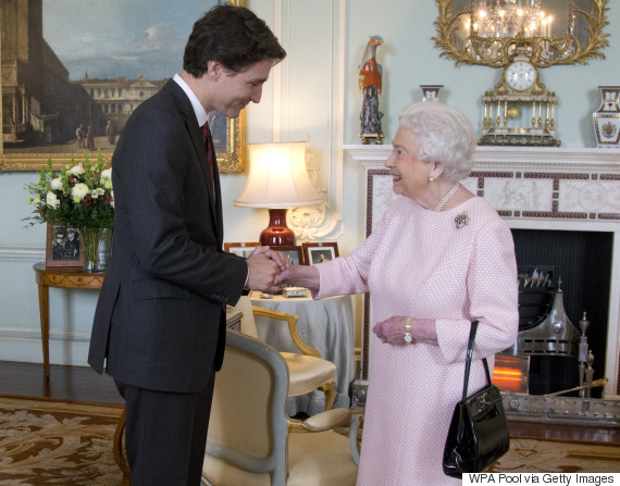 trudeau queen