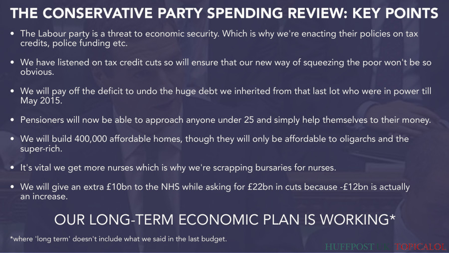 spending review george osborne autumn statement