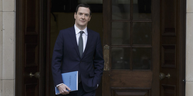 Chancellor of the Exchequer George Osborne leaves the Treasury in London for the House of Commons, where he will deliver his joint Autumn Statement and Spending Review.