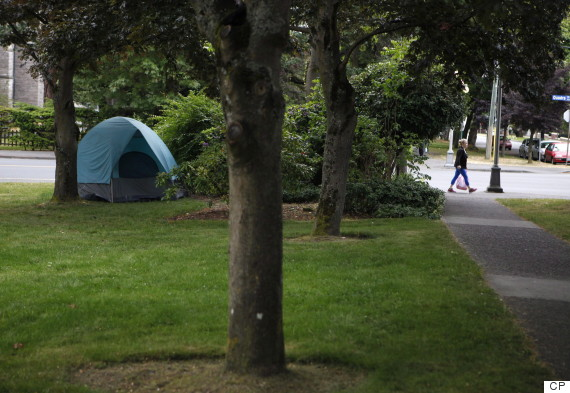 victoria courthouse homeless