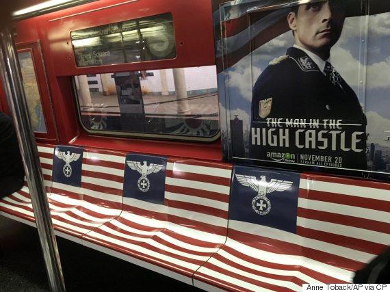 new york subway nazi ad