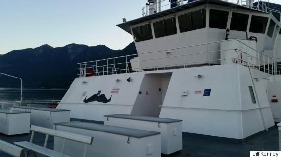 bc ferry mustache
