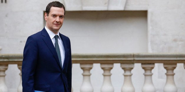 George Osborne, U.K.'s Chancellor of the Exchequer, departs for the Houses of Parliament to deliver the Autumn Statement from the H.M. Treasury building in London U.K., on Wednesday, Nov. 25, 2015. U.K. 10-year bond yields approached their lowest level this month before Osborne's Spending Review, with investors weighing the implications for gilt issuance from a possible increase in the government's cash needs. Photographer: Luke MacGregor/Bloomberg via Getty Images