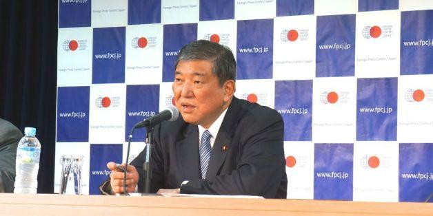 日本の現状を語る石破茂大臣