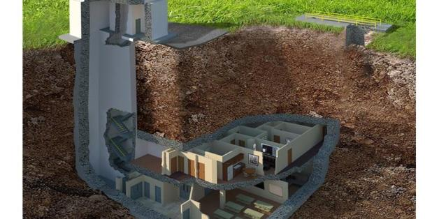 vendre un bunker renov en g orgie aux tats unis photos al huffpost maghreb. Black Bedroom Furniture Sets. Home Design Ideas