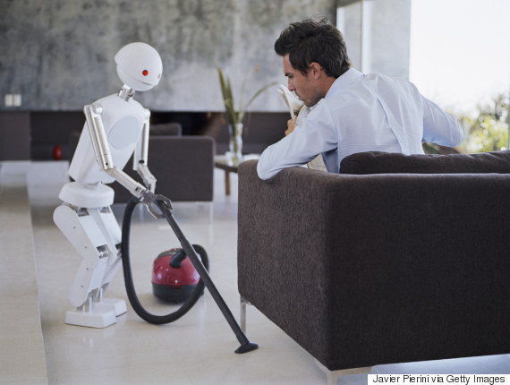 robot cleaning