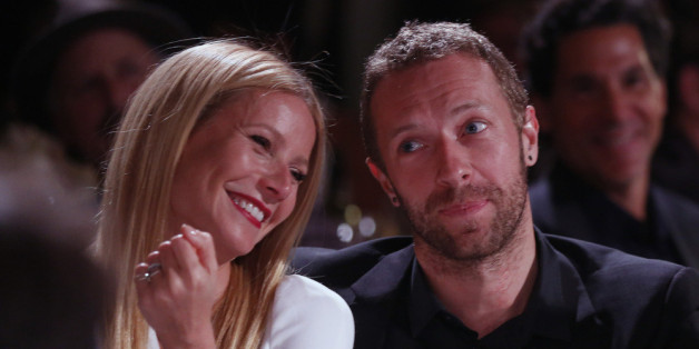Gwyneth Paltrow und Chris Martin bei einer Benefiz-Gala Anfang 2014
