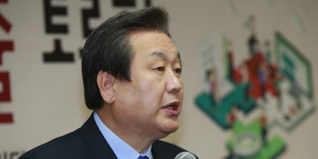 새누리당 김무성 대표가 27일 여의도 당사에서 열린 '노동개혁을 통한 청년일자리 창출 토론회'에서 인사말을 하고 있다.