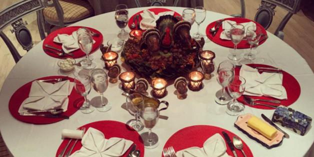 Vor dem Dinner bei Paris Hilton