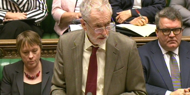 Labour leader Jeremy Corbyn responds after Prime Minister David Cameron made a statement to MPs in the House of Commons, London where he announced his government's Strategic Defence and Security Review (SDSR).