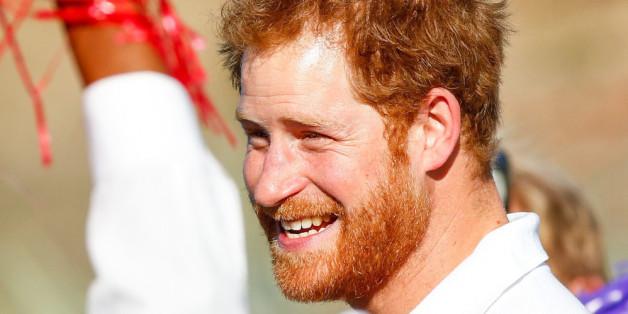 Prinz Harry bei seiner Charity-Reise durch Südafrika