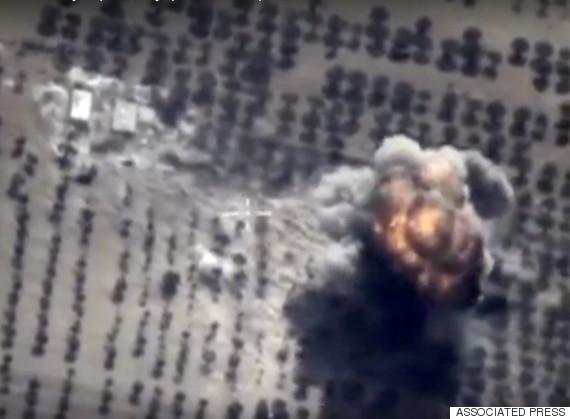 russia air strike