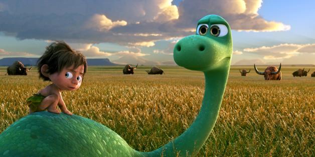 Arlo und Spot sind die Helden im neuen Pixar-Film.