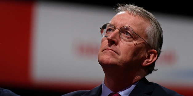 BRIGHTON, ENGLAND - SEPTEMBER 30:  Shadow Foreign Secretary Hilary Benn listens to a speech on 'Stronger, Safer Communities' during the final day of the Labour Party Autumn Conference on September 30, 2015 in Brighton, England. On the final day of the four day annual Labour Party Conference delegates will debate an emergency motion on Syria and discuss matters relating to healthcare and education.  (Photo by Ben Pruchnie/Getty Images)