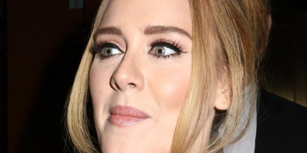 Adele bei einem Auftritt in New York
