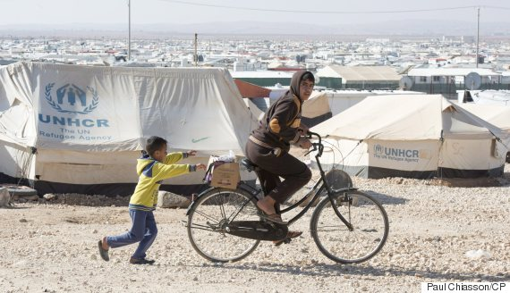 refugee camp mafraq jordan
