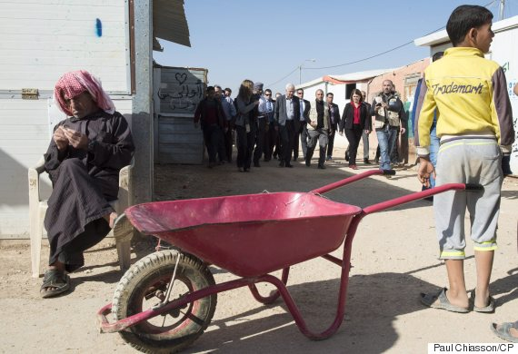 refugee camp jordan ministers
