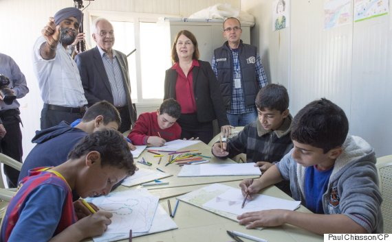 refugee camp canada ministers
