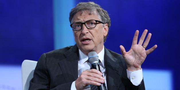 Eine ernste Sache: Bill Gates will saubere Energie fördern. (Archivbild)