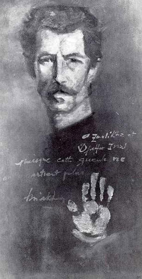 issiakhem autoportrait