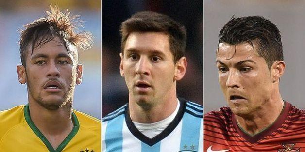 Ballon d'or 2015: Neymar sur le podium